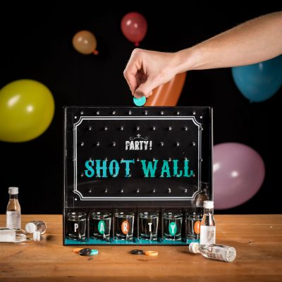 Shot wall party spil