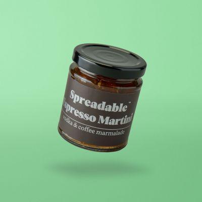 Espresso-Martini Marmelade u. alkohol