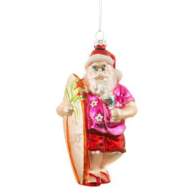 Tropisk Julemand Juletræsdekoration