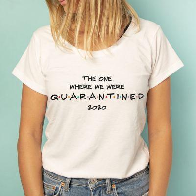 Karantæne-t-shirt
