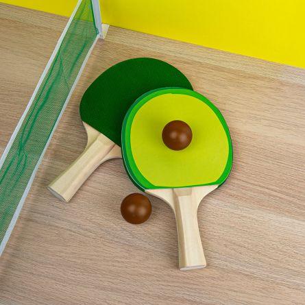 Avocado Bordtennissæt