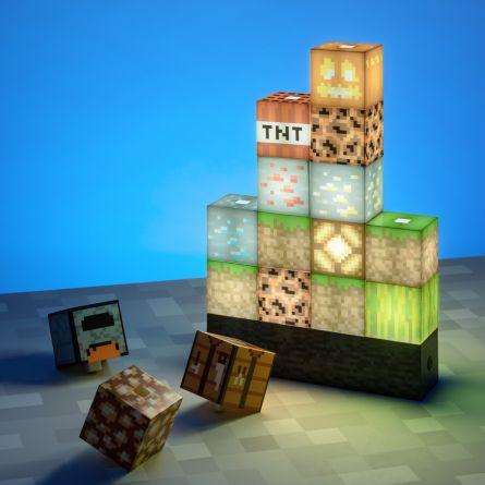 Minecraft-bloklampe med 16 elementer