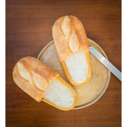 Hvidt brød tøfler
