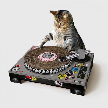 Kradsetræ-pladespiller til katte
