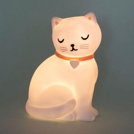 Sød kat natlys