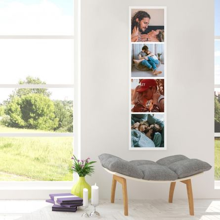 Personaliseret Fotostrip Plakat