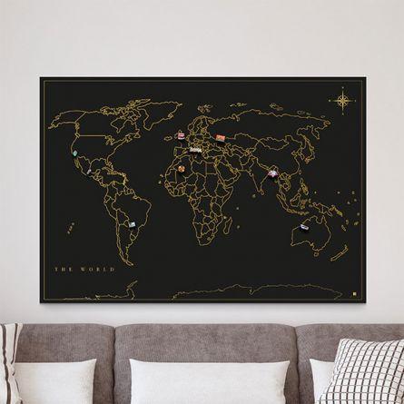 Magnetisk verdenskort
