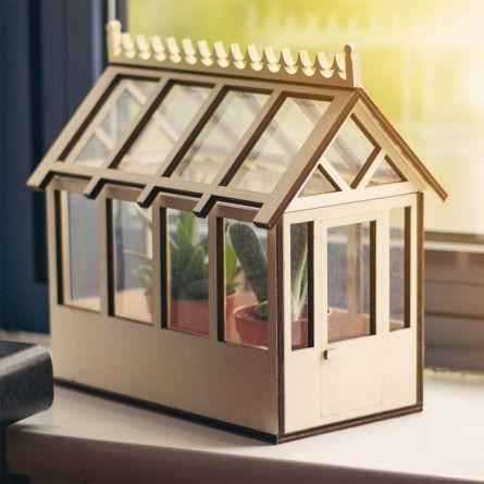 Mini hus til planter