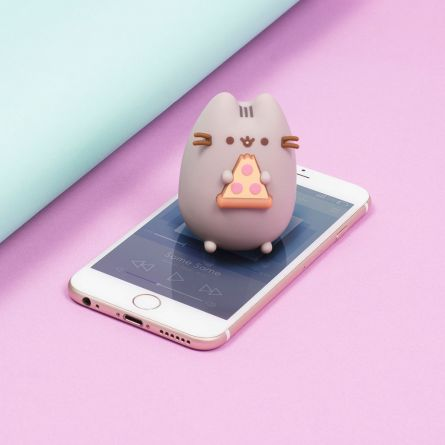 Pusheen mini bluetooth højtaler med pizza