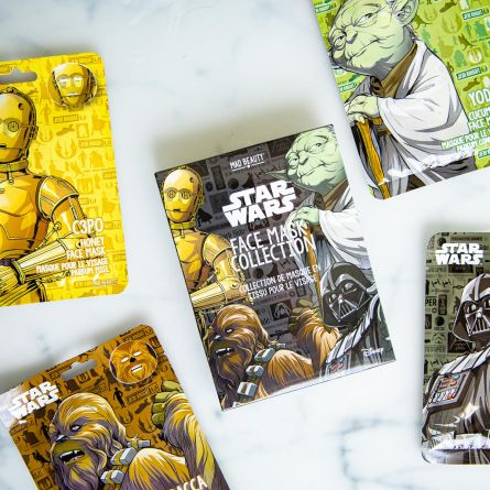 Star Wars ansigtsmasker - sæt med 4