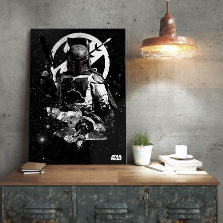 Star Wars Metalplakat - Boba Fett Slave 1