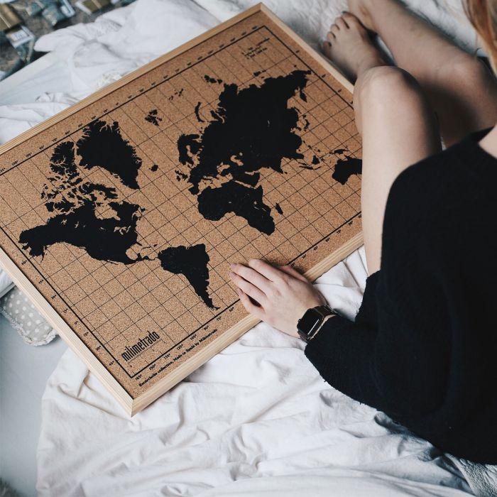 Kork verdenskort