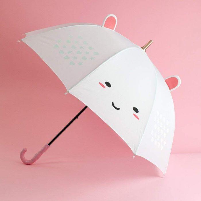 Elodie enhjørning LED paraply med farveændring