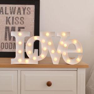 LED Lys - LOVE