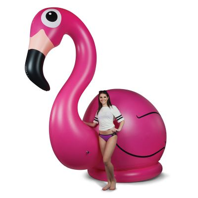 50 års fødselsdagsgave - Kæmpe oppustelig flamingo