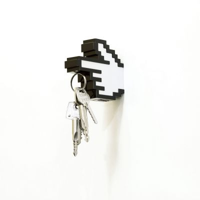 Deko - 8 Bit Magnetisk Nøgleholder