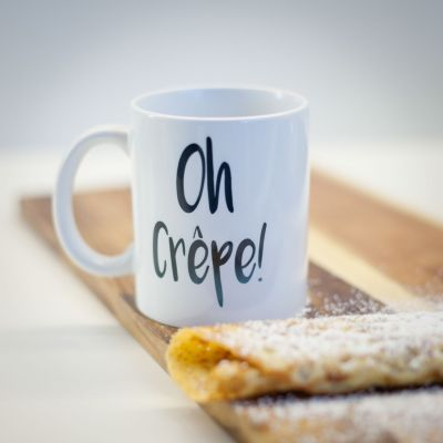 Kopper og glas - Oh Crêpe Krus