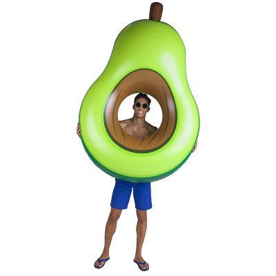Nyt - Oppustelig Avocado Badedyr