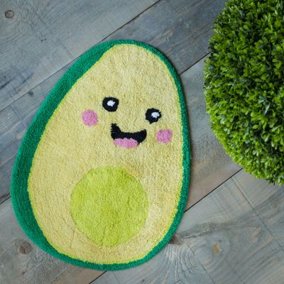 Badeværelse - Happy Avocado Bademåtte