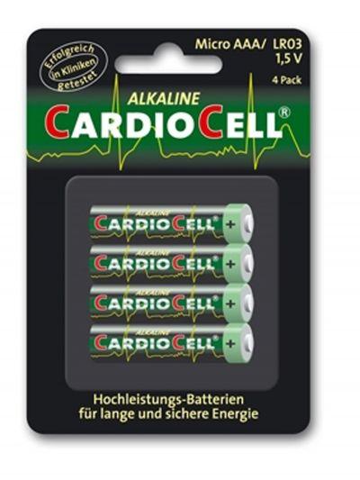 Billige gaver - Cardiocell batteri AAA-LR03 (4 stk.)