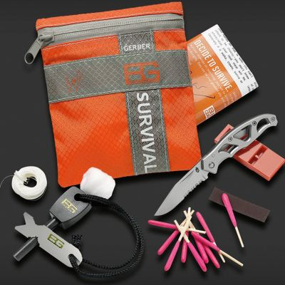 Cool redskaber - Bear Grylls Survival Kit - overlevelsessæt