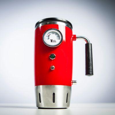 Retro ting - Opvarmet retro kop med temperaturvisning