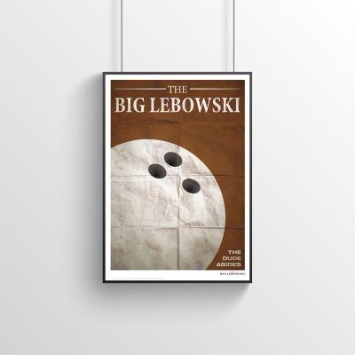 30 års fødselsdagsgave - The Big Lebowksi - Filmplakat