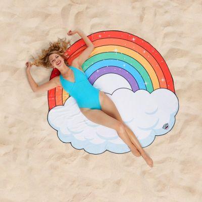 Badeværelse - Regnbue strand håndklæde