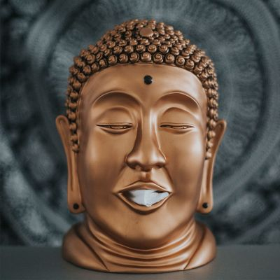 40 års fødselsdagsgave - Buddha Lommetørklæde dispenser
