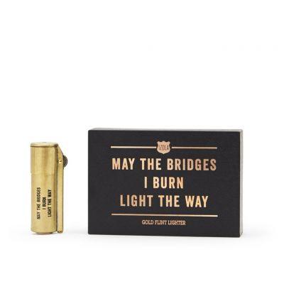 40 års fødselsdagsgave - Old school messing lighter