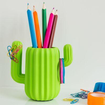 30 års fødselsdagsgave - Kaktusholder til skriveredskaberne
