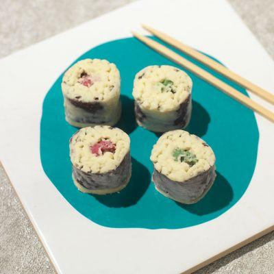 Gaver til par - Chokolade Sushi