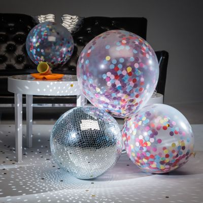 Deko - Kæmpeballoner med Konfetti