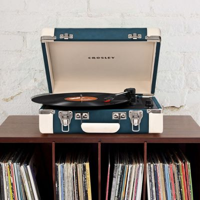 Musik & Radio - Crosley Executive Pladespiller med USB
