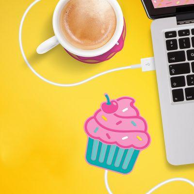 Billige gaver - Cupcake USB-kaffekopvarmer