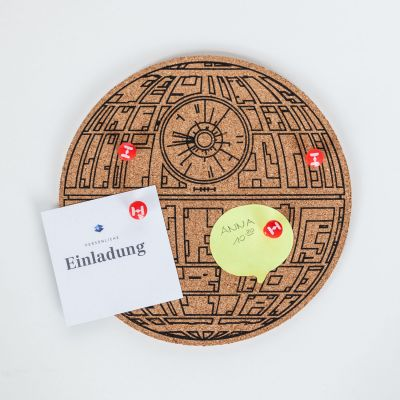 Gaver til ham - Star Wars Death Star Pinboard