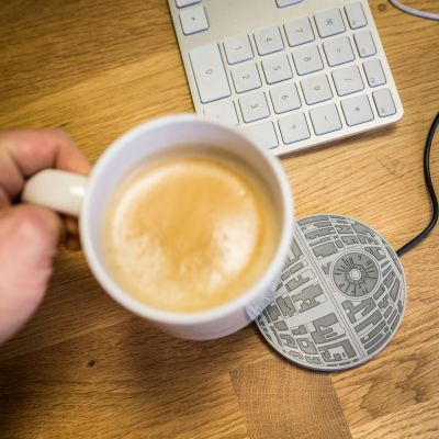 Gaver til ham - Star Wars Death Star Cup Warmer med USB