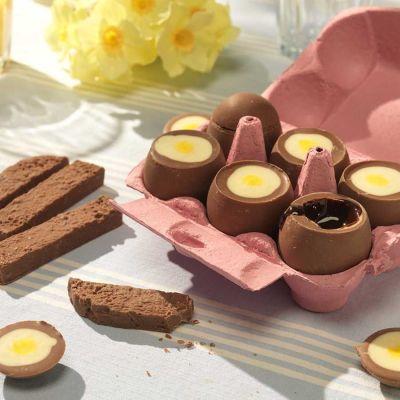 Sødt - Choko-blomme-æg