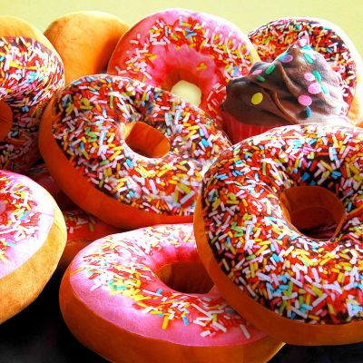 Valentinsdags gaver - Donut Pude