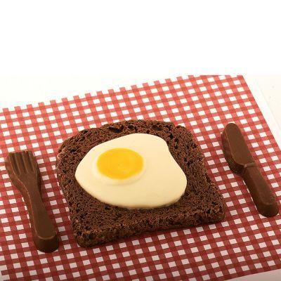 Sødt - Bacon & Æg af Chokolade