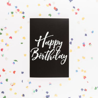 30 års fødselsdagsgave - Det uendelige fødselsdagskort med glitter