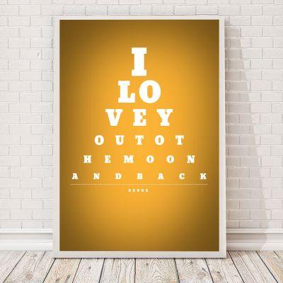 Valentinsdags gaver - Synstavle - Personlig Plakat