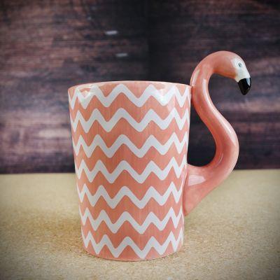 Kopper og glas - Flamingo Krus