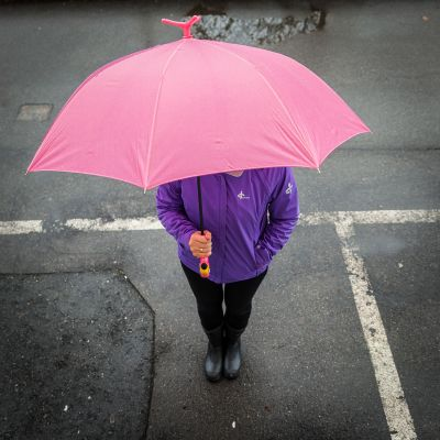Gaver til børn - Flamingo Paraply
