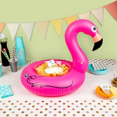 Strand & hav - Oppustelig Mini Snack-bar Flamingo