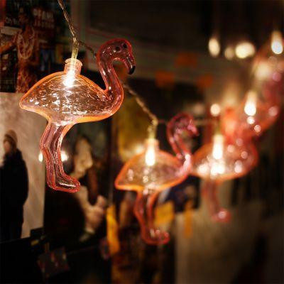 Romantiske gaver - Flamingo Lyskæde