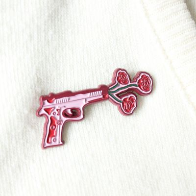 Accessoires - Blomsterpistol pin