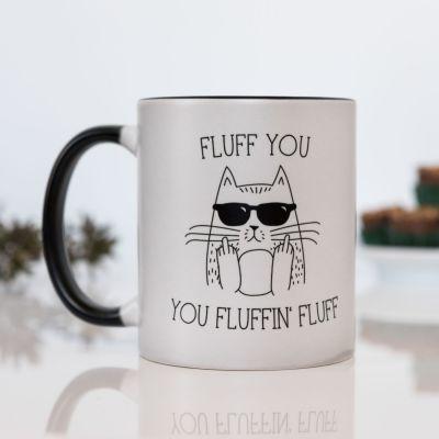 Kopper og glas - Fluff you temperaturfølsomt krus