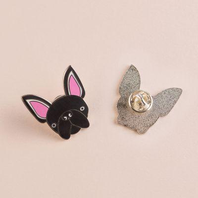 Homewear & accessoires - Fransk bulldog pin
