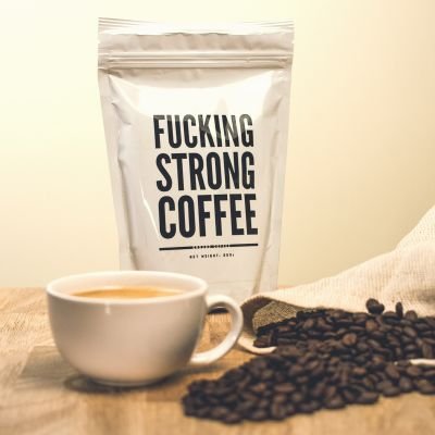 Salt - F*cking Strong Coffee: Forbandet stærk kaffe